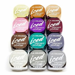 Kit de 12 Iced Pigment Powder L.A. Colors