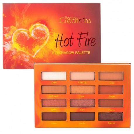 Paleta de sombras Hot Fire Beauty Creations