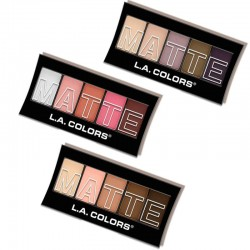 5 Color Matte Eyeshadow L.A Colors