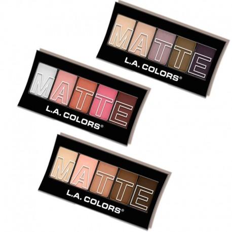 5 Color Matte Eyeshadow L.A Colors