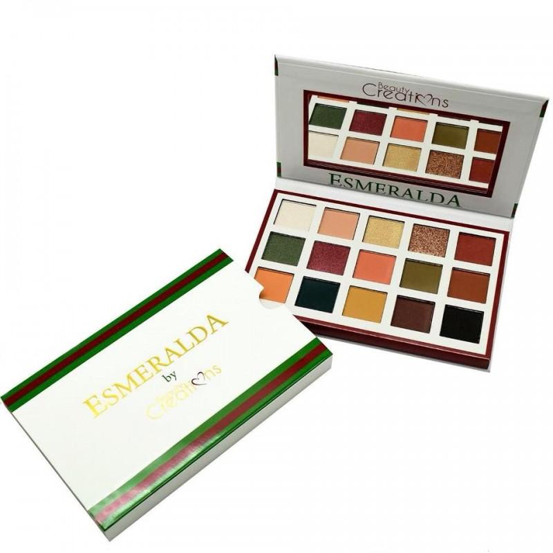 Paleta de sombras Esmeralda I BeautyCreations