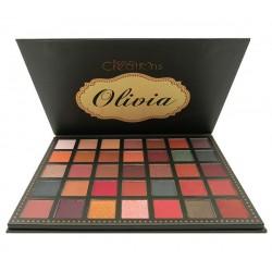 Paleta de sombras Olivia BeautyCreations