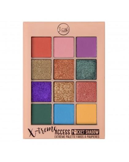 Paleta de sombras X-Treme Access Pocket XPS-03 Pops of Paparazzi J Cat