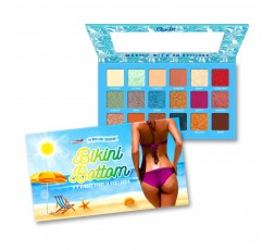 Bikini Bottom 18 Eyeshadow Palette Rude Cosmetics