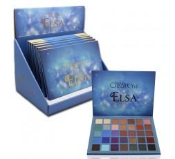Paleta de 35 sombras Alicia, Anna y Elsa Beauty Creations