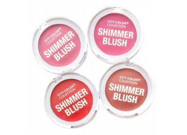 Shimmer Blush City Color