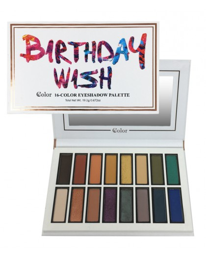 Sombras Birthday Wish Ccolor Cosmetics