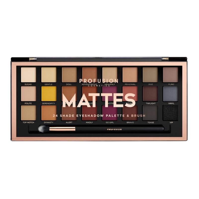 Mattes Eyeshadow Palette Profusion