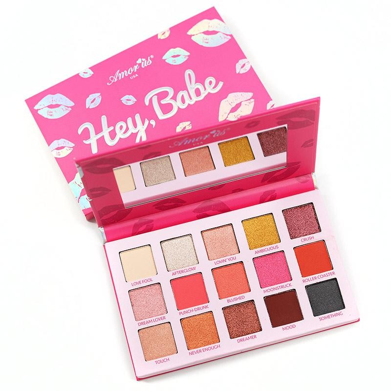 Hey Babe Pressed Pigment Palette Amor Us