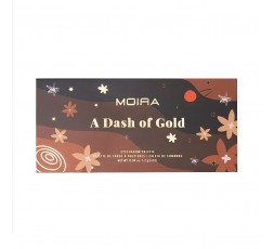 A Dash of Gold Shadow Palette Moira