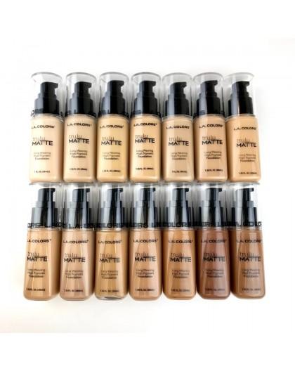 14 Bases de maquillaje Truly Matte L.A. Colors