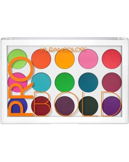 Pro Bold Pressed Pigment Palette Kleancolor