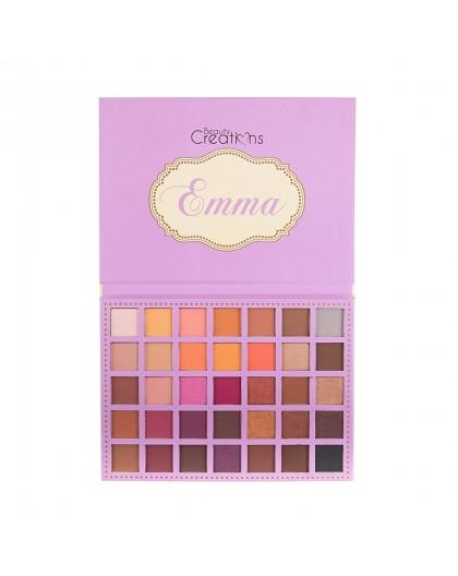 Paleta de 35 sombras BCE10 Emma Beauty Creations