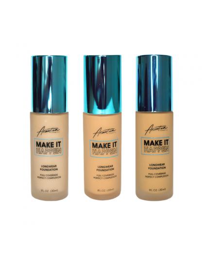 Base de Maquillaje Make it Happen Full Coverage Arantza Cosmetics