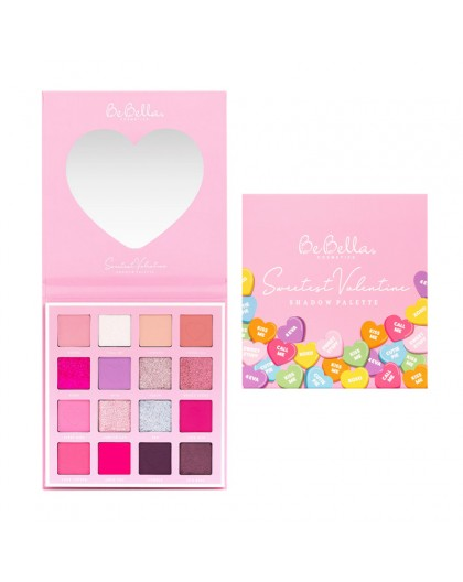 Paleta de sombras Sweetest Valentine BeBella