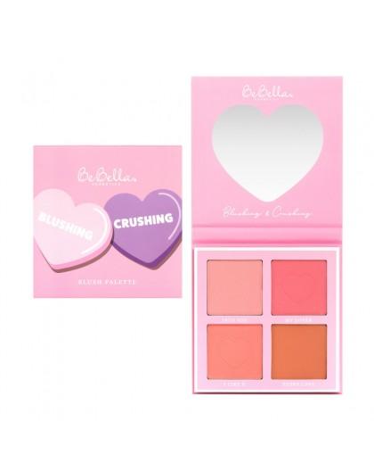 Paleta de rubor Blushing & Crushing Sweet Valentines BeBella